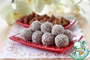 Рецепт Фруктово-кокосовые конфеты и печенье