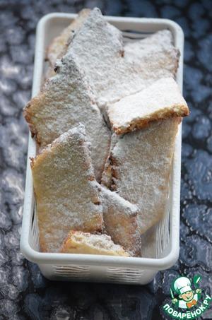 Рецепт Постное лимонное печенье
