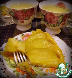 """Рецепт Тарт """"Татэн"""" с яблоками и карамелью"""