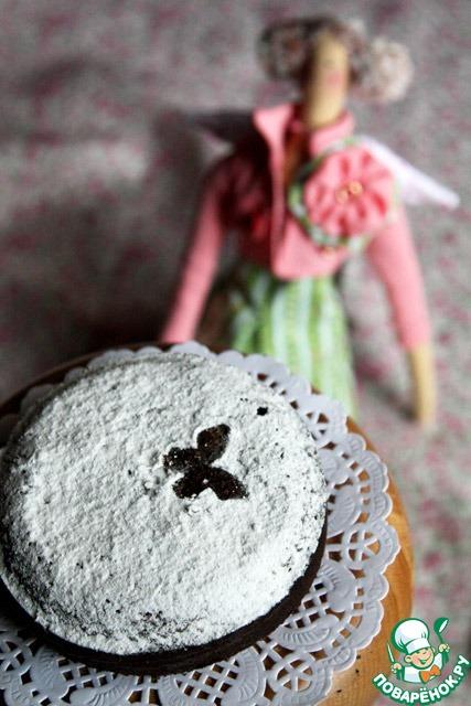 Черемуховый торт с миндалем