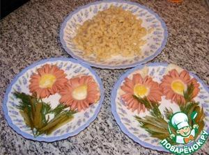 Рецепт Яичница. Завтрак Любимому