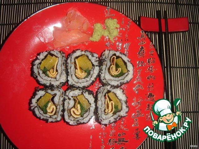 Маки-суши в домашних условиях - кулинарный рецепт