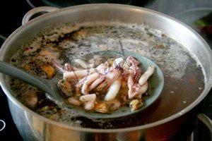 суп из морского коктейля рецепт простой рецепт