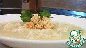 Как готовить Суп-пюре из цветной капусты простой рецепт приготовления с фото