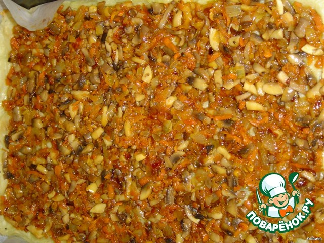 картофельный рулет с грибами рецепт #10