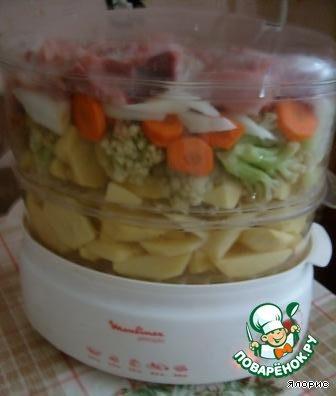 Как сделать вкусные овощи в пароварке
