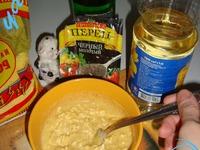 Грибы в кляре ингредиенты