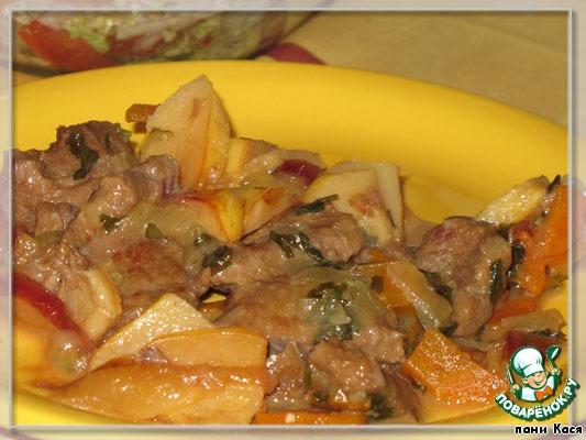 Говядина с черносливом тушеная вкусные рецепты 56