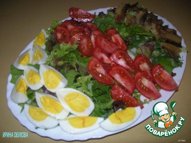 вкусный быстрый салатик рецепт с фото