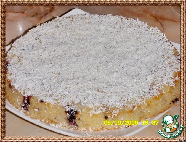 Бисквит с белым шоколадом рецепт с фото