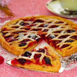 : Пирог с ягодами