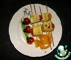 Рецепт Рулеты из кабачков с рисом