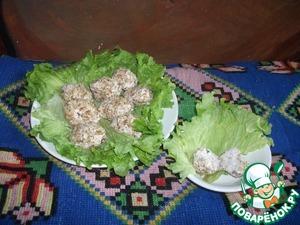 Рецепт Закуска из печени трески с творогом