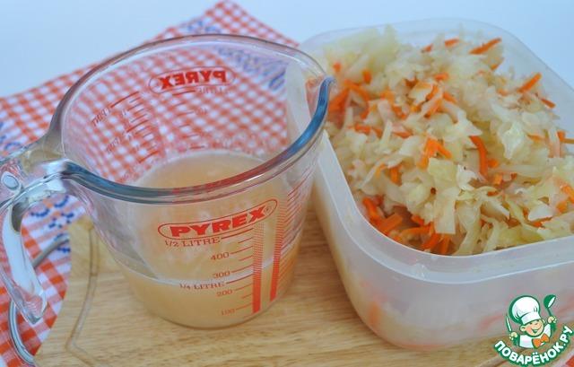 горчица на капустном рассоле рецепт приготовления