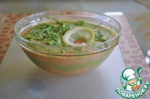 Рецепт Дуэт из моркови и зеленого горошка