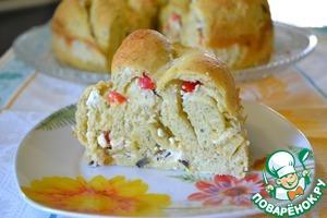 Рецепт Болгарский пирог с брынзой