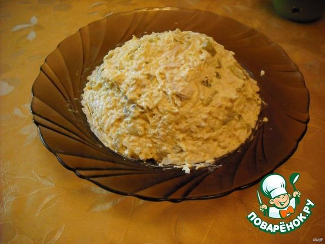 Салат белочка рецепт с пошагово в