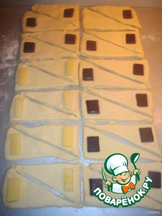 Шоколад для круассанов в домашних условиях