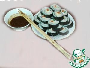Рецепт Ким Паб (корейские роллы)