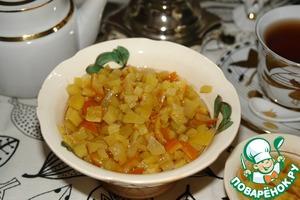 Рецепт Варенье имбирное, с цитрусовой ноткой