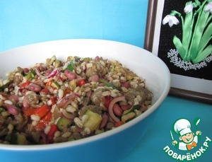 Рецепт Венецианский теплый салат