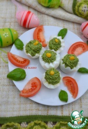 Рецепт Шпинатно-яичная закуска