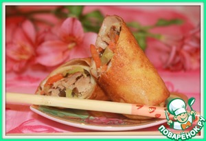 Рецепт Весенние рулеты-Spring rolls