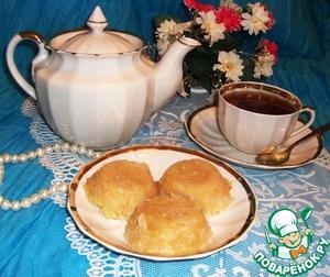 Рецепт Яблочное суфле с рисовыми хлопьями