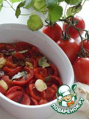 Рецепт Запечeнные помидоры