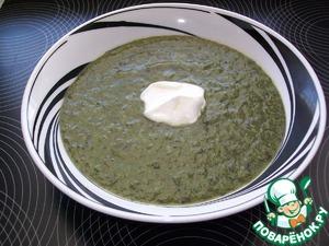 Как готовить Грибной суп со шпинатом домашний рецепт приготовления с фотографиями пошагово