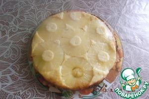 Пирог с ананасами домашний пошаговый рецепт с фотографиями как приготовить