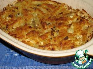 Рецепт Картофельная запеканка с анчоусами (хамсой)