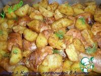Курица с картошкой в духовке ингредиенты