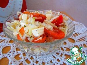 Рецепт Капустный салат с базиликом