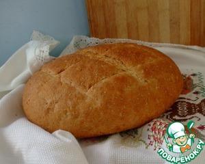 Рецепт Хлеб пшенично-ржаной (от Ришара Бертине)