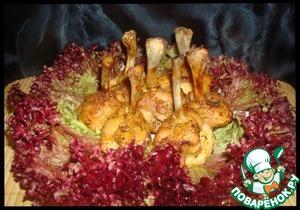 Рецепт Закуска из куриных крылышек