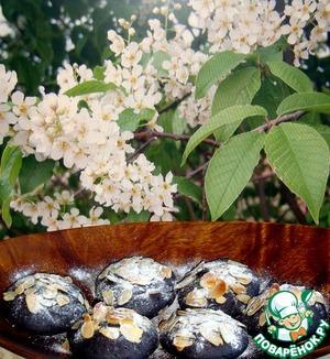 Рецепт Булочки из молотой черёмухи