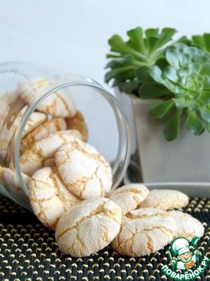 Рецепт Аmaretti-миндальное печенье
