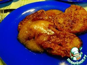 Рецепт Гречневые оладьи с мёдом