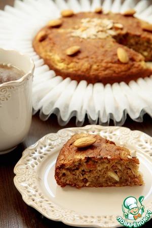 Рецепт Бананово-грушевый пирог с миндалем