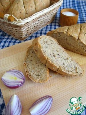Рецепт Многозерновой хлеб (постный)
