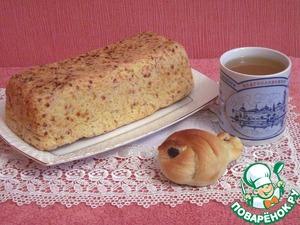 Рецепт Хлеб яблочный постный