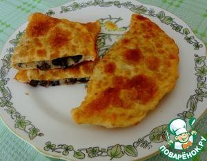 Рецепт Жареные пирожки с рисом и грибами