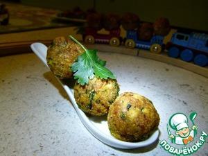 Рецепт Фалафель, или псевдо-мясные фрикадельки