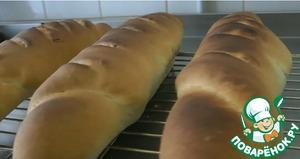Рецепт Домашний хлеб по-деревенски