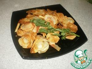 Рецепт Розочки из картофеля. Любимое лакомство для внучки
