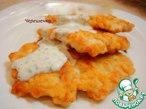 Рецепт Оладушки (котлетки) из рубленой индейки (курицы)