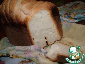 Рецепт Простейший белый хлеб на закваске