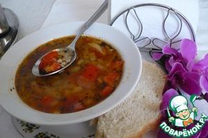 """Рецепт Суп """"Овощной букет с рисом"""""""