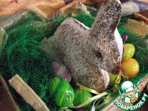 Рецепт Марципановый пасхальный заяц
